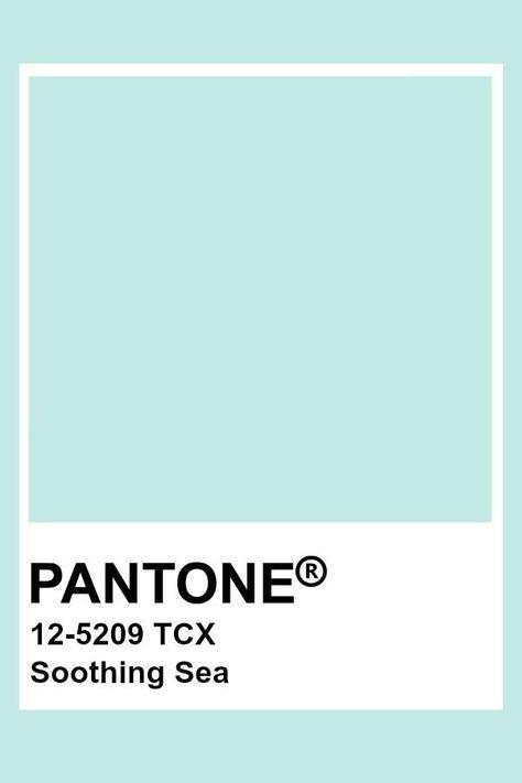 Pantone Soothing Sea - pan to the ne - #pan #Pantone #Sea #Soothing