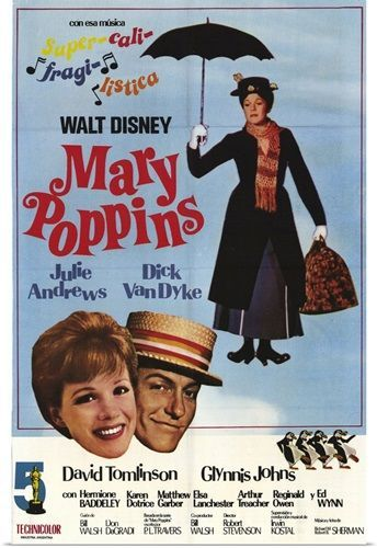 Mary Poppins Original Poster Image 1964 In 2021 Mary Poppins Movie Posters Mary Poppins Movie Mary Poppins 1964