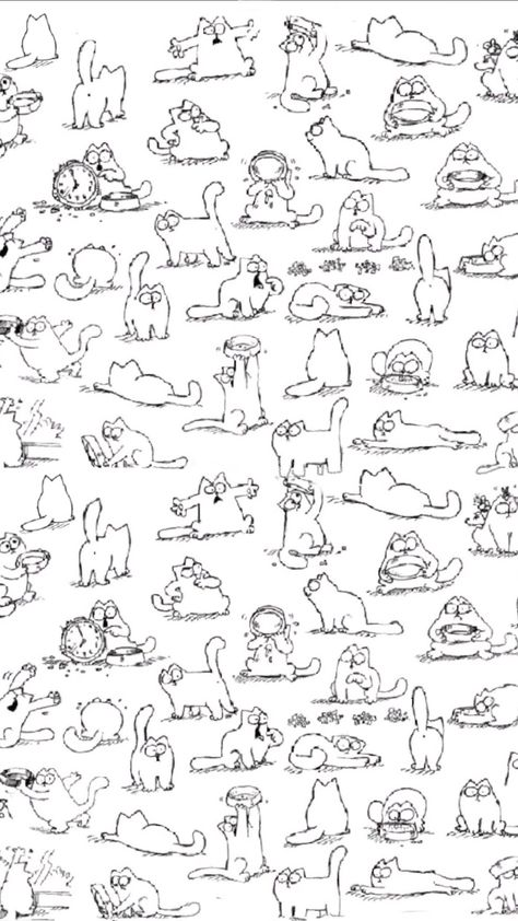 Simons Cat Wallpaper In 2019 Cat Expressions Cat