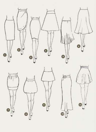 48 Ideas Skirt Ideas Charts Fashion Sketches Fashion Drawing Dresses Fashion Infographic