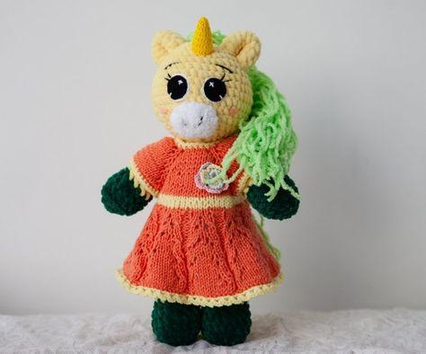 Amigurumi Unicorno | 394x474