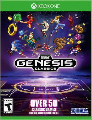 New Games Sega Genesis Classics Pc Ps4 Xbox One Sega Genesis Sega Xbox One Games