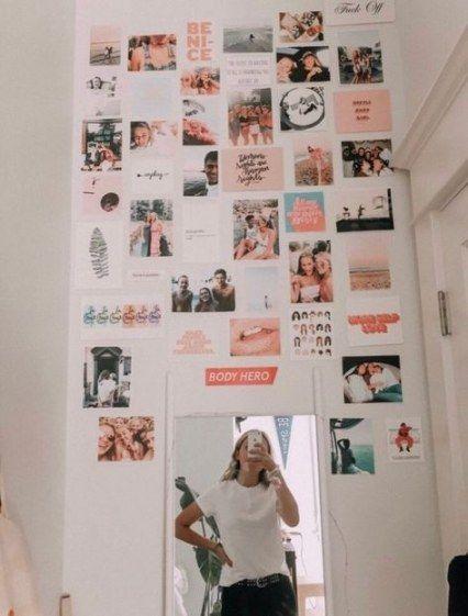X Via Tumblr Summer Room Decor Photo Walls Bedroom Heart Photo Collage