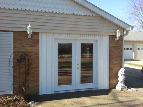 garage door conversion home pinterest garage conversions garage and garage doors