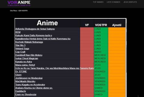 anime streming vf gratuit