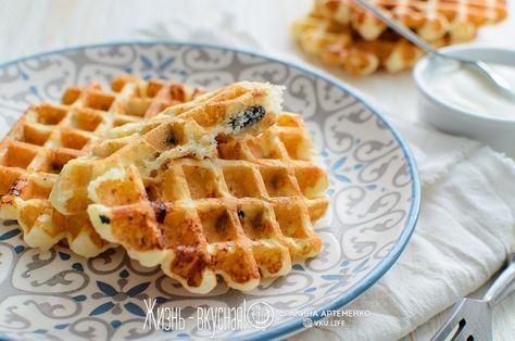 Печенье в вафельнице из творога #6