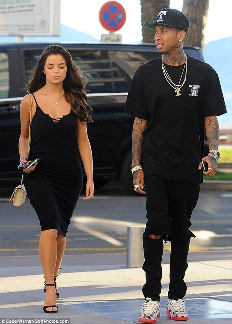Happier times: Demi's profile rose signifcantly after enjoyed a brief romance with Tyga in...