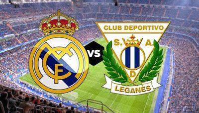 مشاهدة مباراة ريال مدريد وديبورتيفو ليجانيس اليوم بث مباشر فى الدورى الاسبانى Sport Team Logos Leganes Team Logo