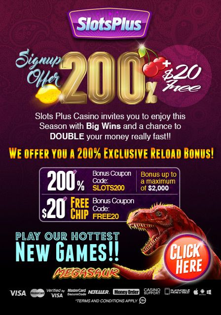 Slots plus casino coupon codes