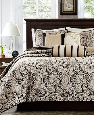 Madison Park Adeline 6 Pc Quilted King California King Coverlet Set Reviews Bed In A Bag Bed Bath Macy S Luxury Comforter Sets Complete Bedding Set Comforter Sets