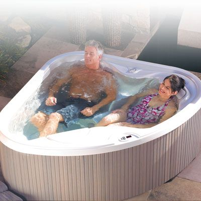 7 Best Persons Hot Tub Images On Pinterest | Hot Tubs, Bathroom Ideas And  Spa Decorations