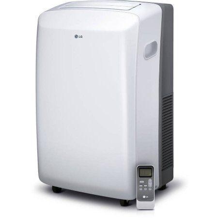 Lg 8 000 Btu Portable Air Conditioner With Remote Control Window Kit 115v Facto Portable Air Conditioner Portable Air Conditioning Portable Air Conditioners