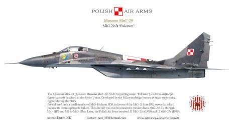 Mig 29 Fulcrum Profile By Roen911 Military Graphics Fighter Aircraft Design Mig Fighter