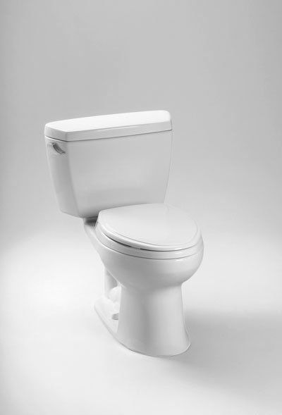 Ecodrake Two Piece Elongated 1 28 Gpf Universal Height Toilet For 10 Inch Rough In Seat Not Included Toto Toilet Toilet