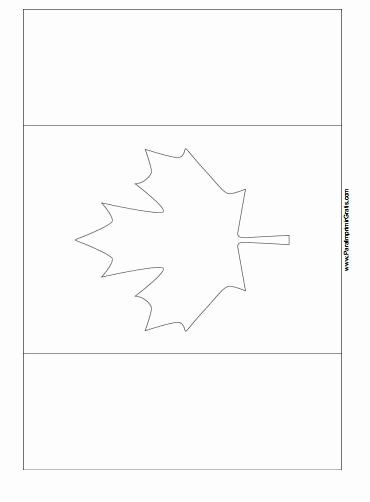 Canada Flag Coloring Page New Canada Flag Coloring Page Free