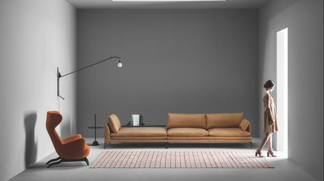 Zanotta William Zetel Sofa En 2020 Avec Images Salon Maison Canape Salon