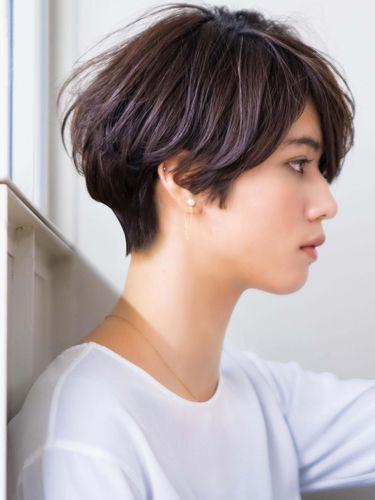 2020 冬 新着順 ショートヘアスタイル髪型 モダン ショート