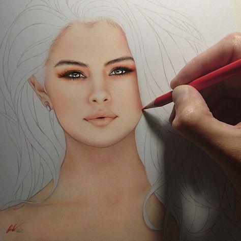 Selena Gomez II, in progress. Follow me: Facebook   Instagram