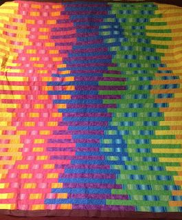 Show Me Sewing: Interwoven Bargello Quilt - Tutorial