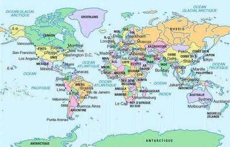 Epingle Par No Sur Geographie En 2020 Carte Du Monde Carte Du