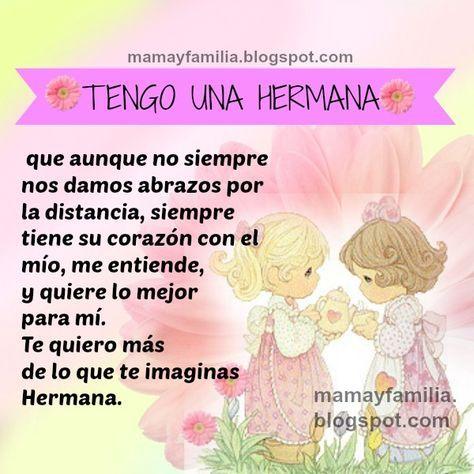 Frases Bonitas Imagenes Para Mi Hermana Palabras Para Mi Querida Hermanita Mamá Y Frases De Hermanas Frases De Cumpleaños Hermana Feliz Cumpleaños Hermanito