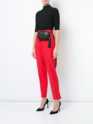 364fb191fd Saint Laurent YSL belt bag | Fall/Winter Outfits in 2019 | Leather ...