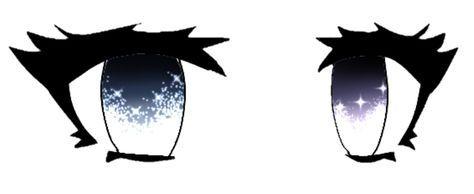 Pin De ѕna Ow En Gacha Life Base Eyes Hair Ojos De Caricatura Bocetos Hermosos Dibujar Ojos De Anime