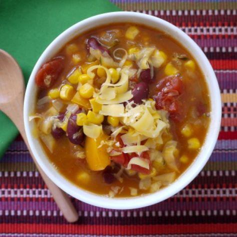 Crock Pot Bean & Corn Soup