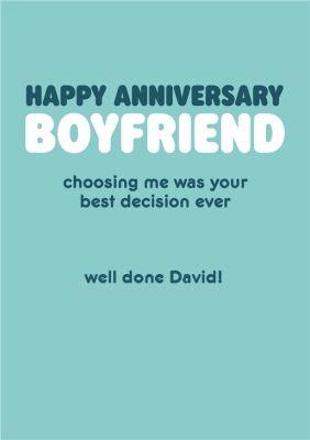 Happy Anniversary Boyfriend Humour Quote Anniversary Card Sponsored Sponsored Boyfriend A Boyfriend Quotes Funny Anniversary Boyfriend Boyfriend Humor