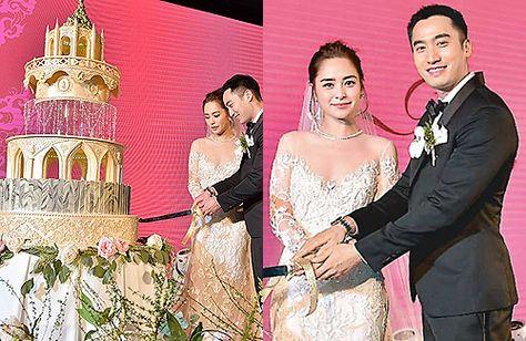 1ea227417527 [Celebrity Weddings] Gillian Chung and Michael Lai's Hong Kong Wedding  Banquet