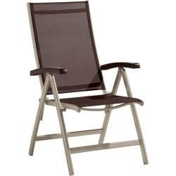 Sieger Bodega Klappsessel Aluminium Textilene Champagner Mocca Siegersieger Makale 2 Gartenstuhle Me Garden Chairs Metal Garden Chairs Folding Armchair