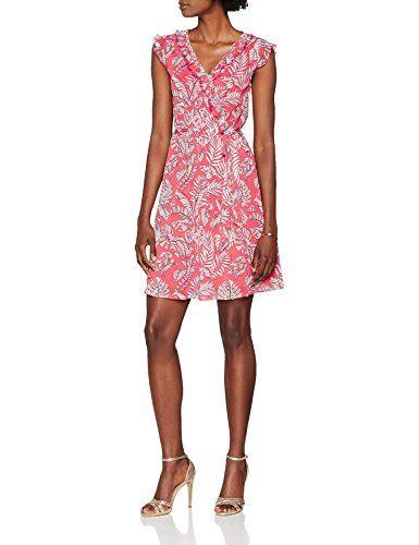 best service a631e 7d6fb s.Oliver 05.806.82.7946 Vestido para Mujer Rosa (Melon Pink ...