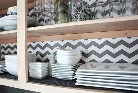 35 Essential Shelf Decor Ideas Kitchen Shelf Liner Kitchen Cabinet Liners Cabinet Liner