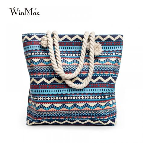 Winmax Women's Canvas Boho Style Shoulder Beach Bag  Price: 15.95$ & FREE Shipping  #BijouXRebel #Apparel #Womens #Jewelry #mensfashion #womensfashion #woman #jewelrygram #bijoux #menstyle #menswear