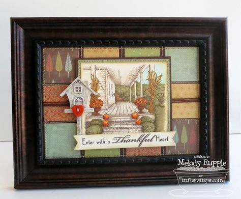 Inspired by the Front Porch - Fall - Melody Rupple
