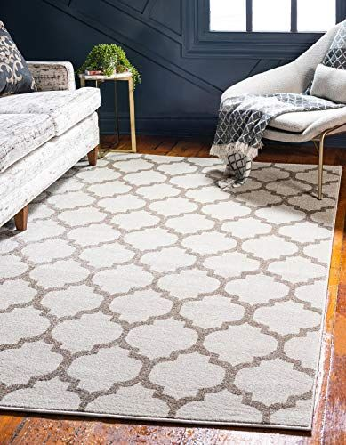 Unique Loom Trellis Collection Moroccan Lattice Beige Area Rug 10 X 14 Want Additional Info Click On The Image This Is An Affiliate L Trellis Rug Rugs