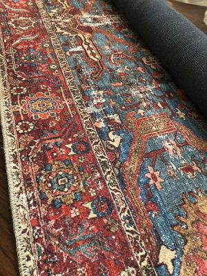 Blue And Red Patterned Phoenix Area Rug Rugs On Carpet Red Boho Rugs Boho Rugs Bedroom