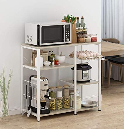 Kitchen Baker S Rack Amazon 78 99 15 7 W Microwave Stand