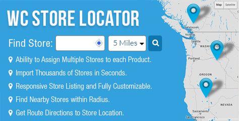 Responsive Store Locator Plugin for WordPress