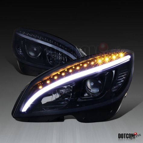 Awesome Amazing 2008-2011 Mercedes Benz W204 C Class LED