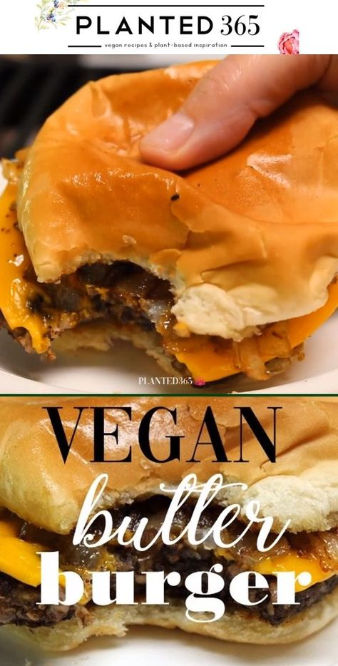 Vegan Butter Burger from is absolutely delicious., This Vegan Butter Burger from is absolutely delicious., This Vegan Butter Burger from is absolutely delicious. Easy Appetizer Recipes, Vegan Dinner Recipes, Whole Food Recipes, Vegetarian Recipes, Cooking Recipes, Easy Recipes, Burger Recipes, Vegan Cheese Recipes, Delicious Vegan Recipes