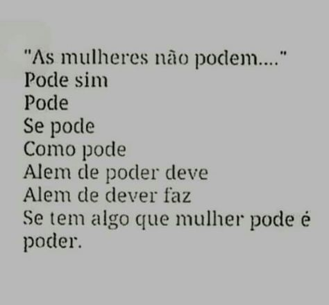 Frases Poesias E Afins Equality Feminism Poetry E Frases