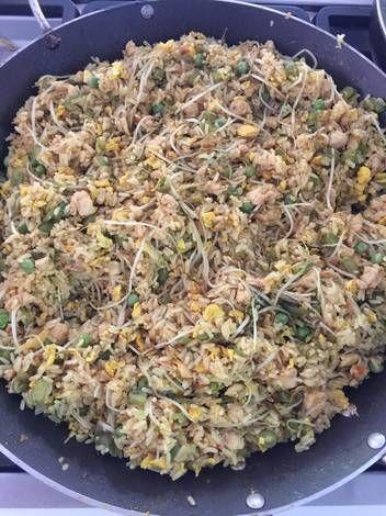 Arroz Con Raíces Chinas Receta De Gloria Camargo Receta Arroz Arroz Chino Receta Recetas Vegetarianas