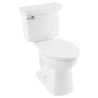 American Standard 5055a 65c Easy Lift And Clean Elongated Toilet