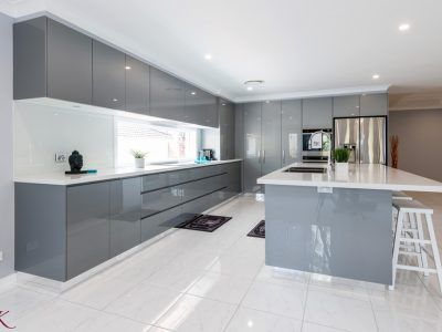 Modern Contemporary Modern Grey Kitchen Contemporary Kitchen Design Kitchen Furniture Design