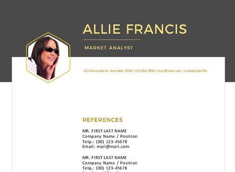 3 in 1 creative Word resume #Word#creative#resume#Templates icon