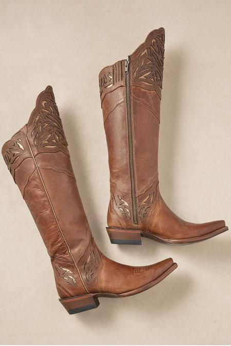 Details about  /Women Vintage Cowgirl Cowboy Boots Ladies Mid Wide Calf Low Heel Western Shoes