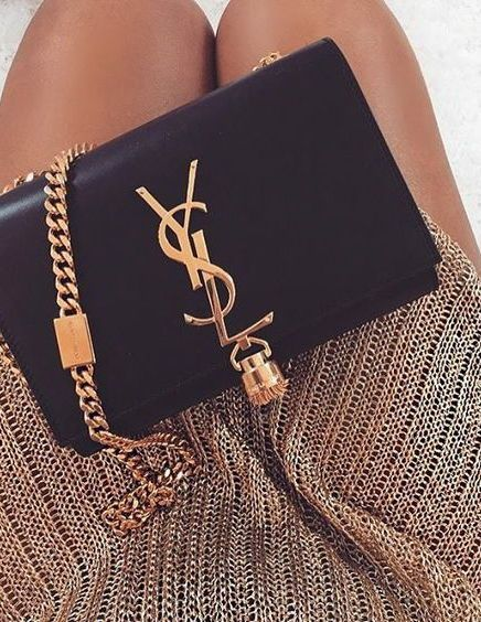 9 Designer Bags Worth the Investment - Gucci Purses - Ideas of Gucci Purses - YSL Saint Laurent bag / street style fashion