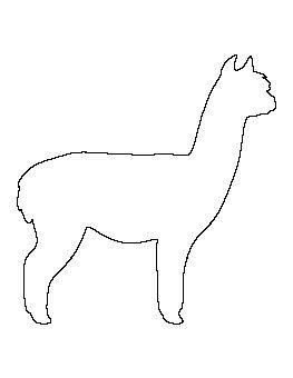 Pin Von Familia Rodrigues Auf Llama Party Alpakas Tier Schablone Bilderrahmen Gestalten