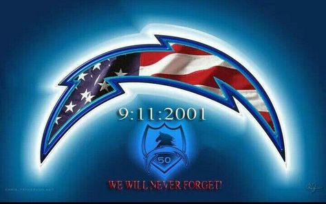 We Will Never Forget 🇺🇸 San Diego and Our Chargers.